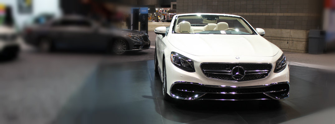 Mercedes-Maybach S 650 Cabriolet on display at 2017 Chicago Auto Show