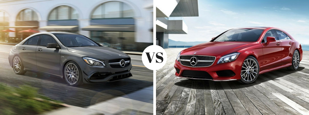 differences between 2017 Mercedes-Benz CLA and CLS