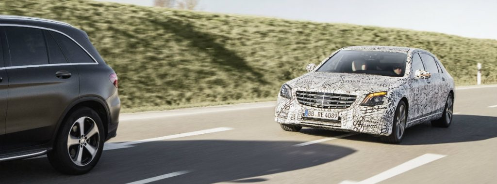 semi autonomous features in the 2018 mercedes benz s class. Cars Review. Best American Auto & Cars Review