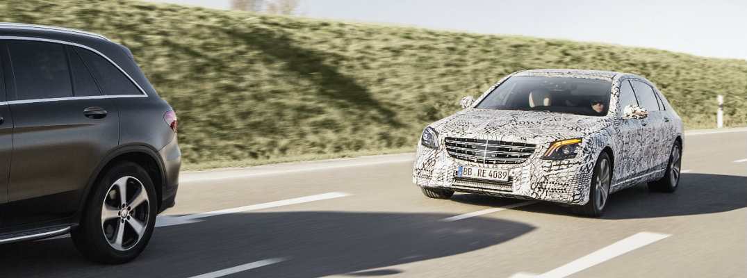 Mercedes-Benz semi-autnomous driver assistance features in 2018 S-Class
