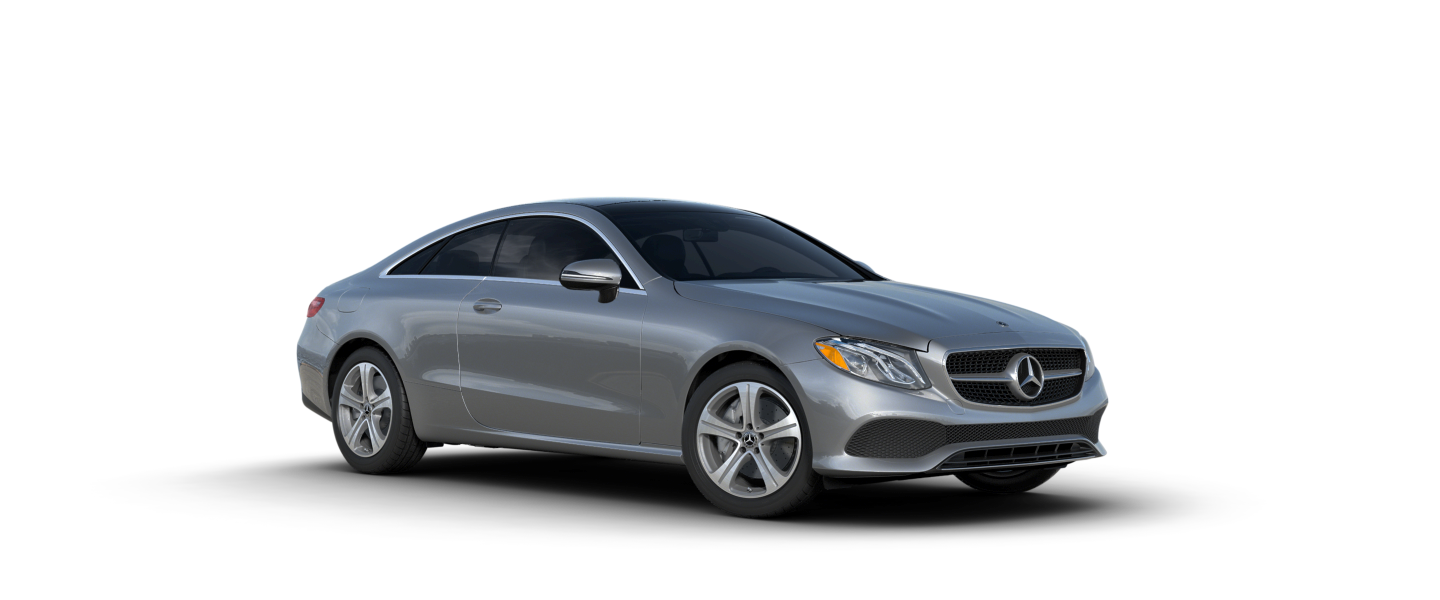 2018 mercedes benz e class color options silver star motors for Mercedes benz options