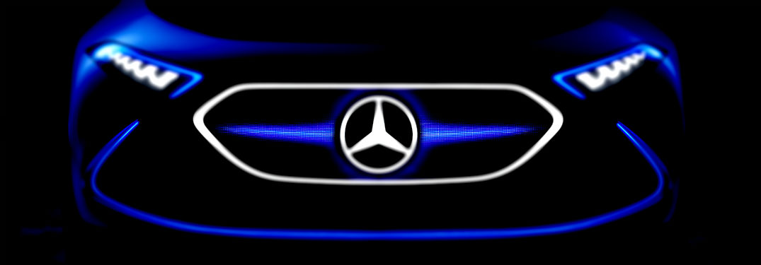 Mercedes Benz Concept EQA Front Grille Electric_o