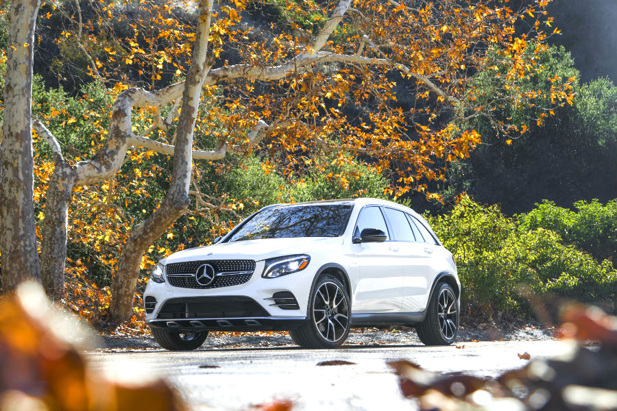 2018 mercedes benz glc suv safety features silver star nyc for Queens mercedes benz dealers