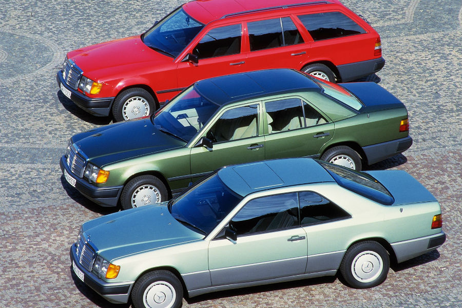 Throwback Thursday: Mercedes-Benz W124 E-Class | Silver Star