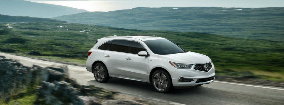 2017 Acura MDX Sport Hybrid release date and features