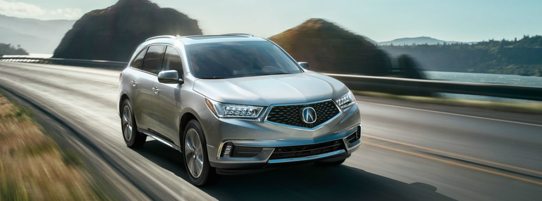 What packages are available on the 2017 Acura MDX?