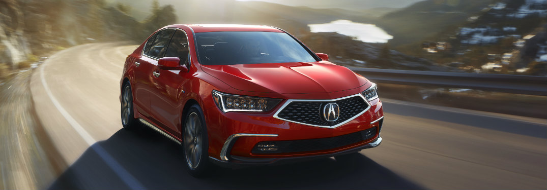2018 Acura RLX new design and changes