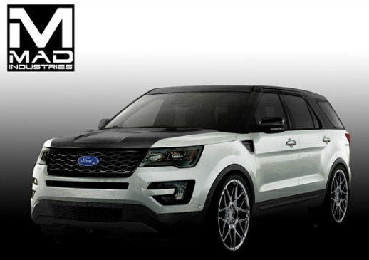 2016 Ford Explorer Special Editions Arrive At Sema 2015
