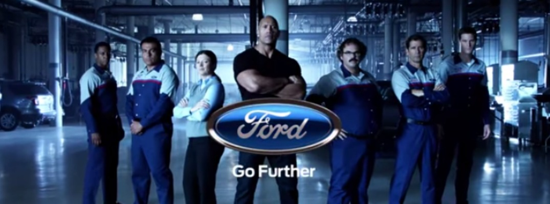 Ford Releases Ads Featuring Dwayne Quot The Rock Quot Johnson