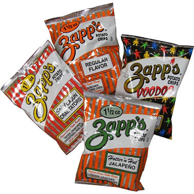 Zapps Chips Snacks
