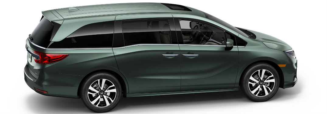 2018 honda odyssey features and specs