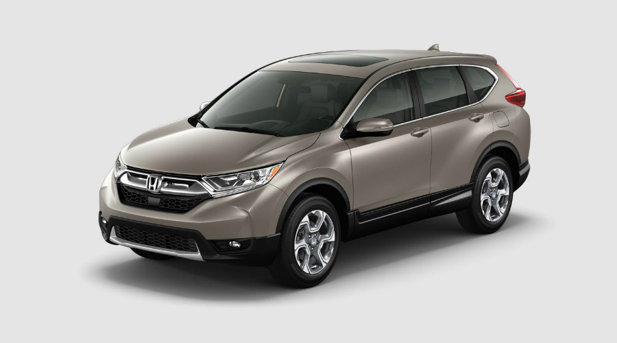 Color Options For The 2017 Honda Cr V