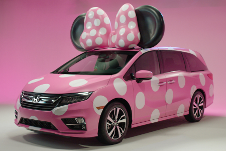 So What Is The Honda MINNIE VAN 2018 Odyssey On Display