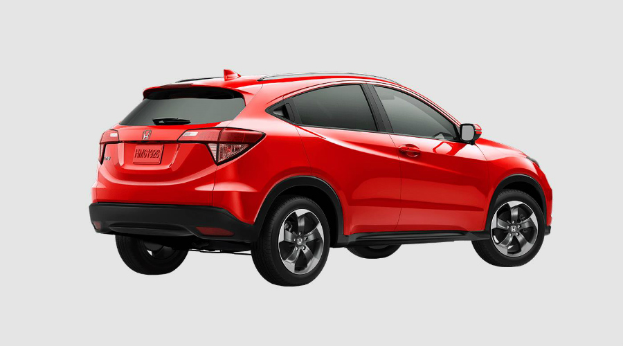 color options for the 2018 honda hr v