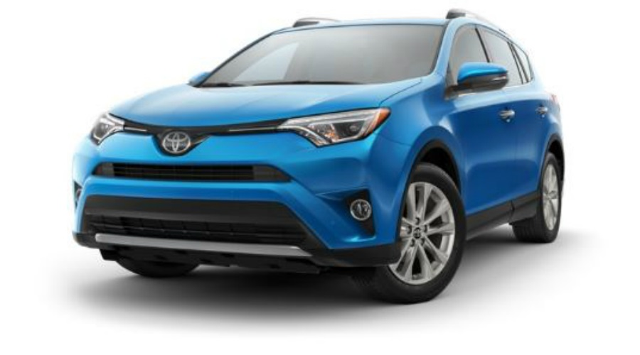 Available Color Options For The 2017 Toyota Rav4