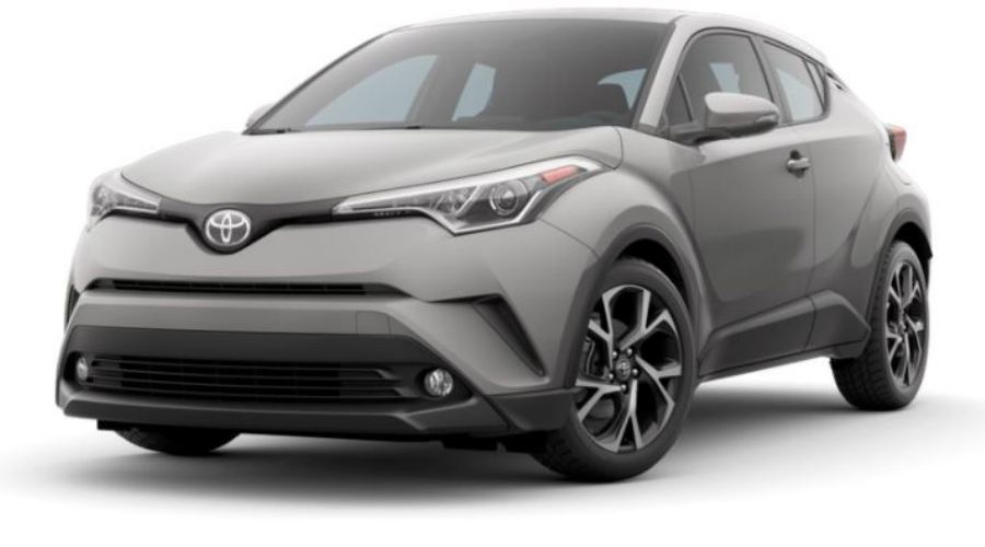 2018 Toyota C-HR in Silver Knockout Metallic
