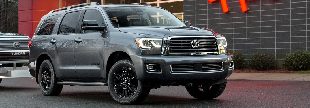 What's new in the 2018 Toyota Sequoia TRD Sport?