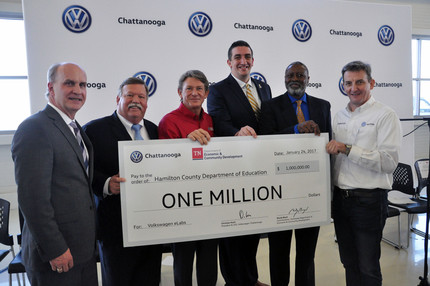 Volkswagen and Tennessee to partner on science program