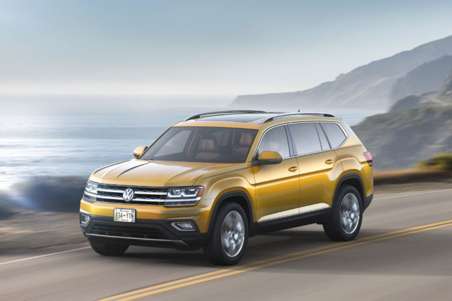 2018 VW Atlas R-Line: Styling, Interior, Arrival >> Vw Introduces Performance R Line Package For All New 2018