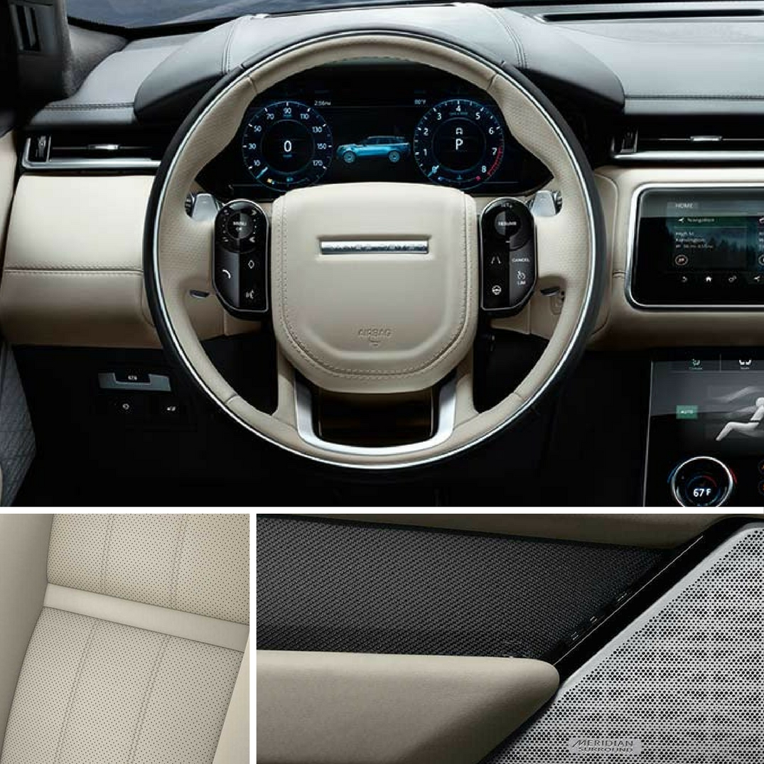 2018 Range Rover Velar R-Dynamic Interior Features