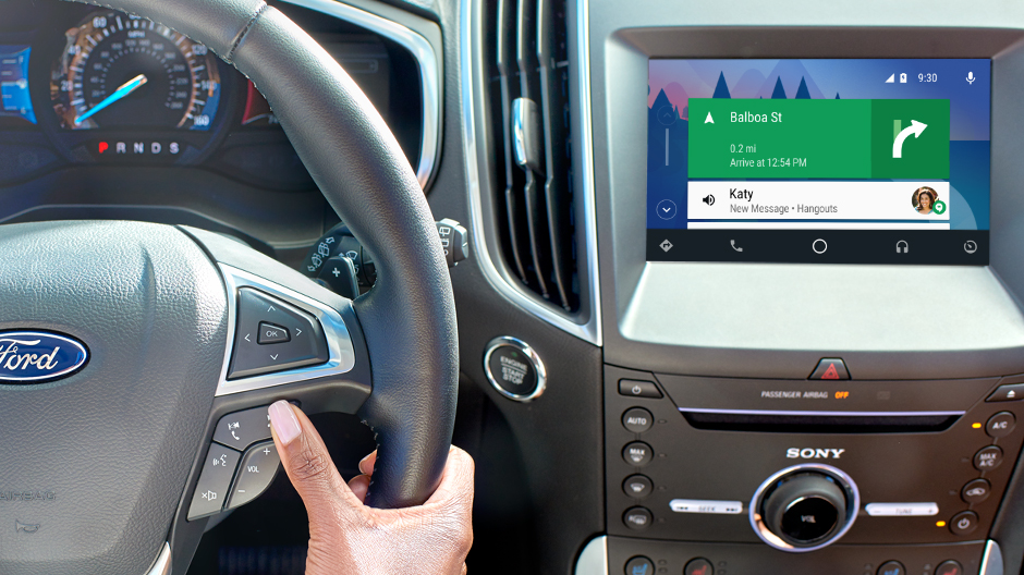 Android Auto for Ford