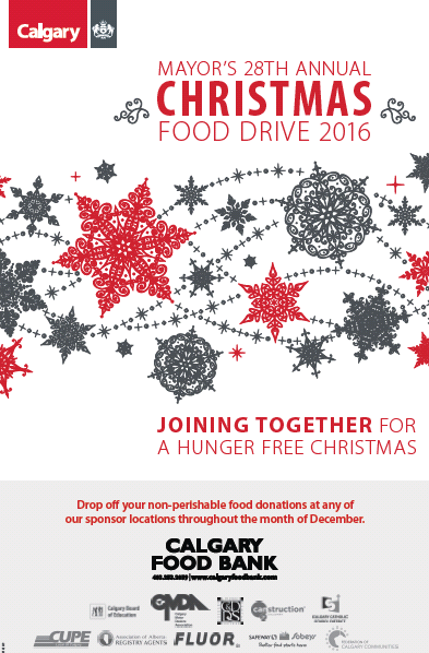 Mayor's 28th Annual Christmas Food Drive