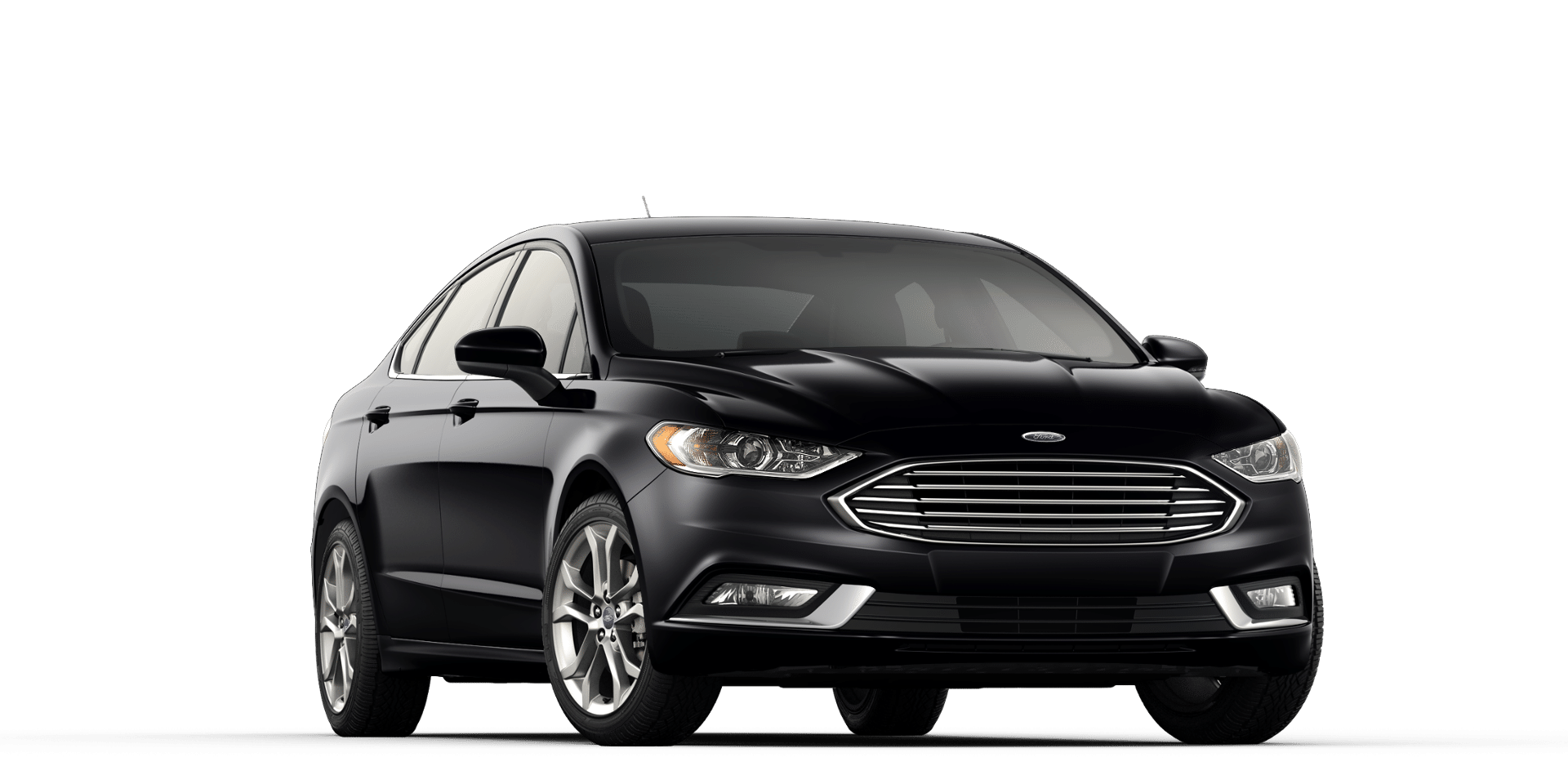 Which 2017 Ford Fusion Has Black Rims