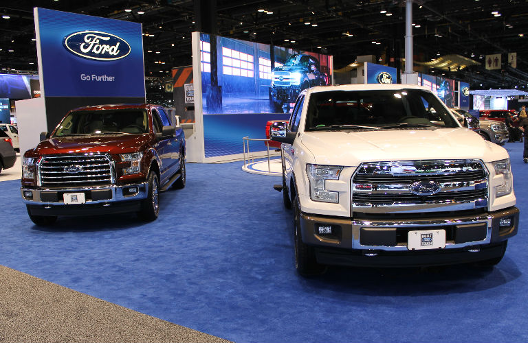 2017 CAS Ford F-150 display