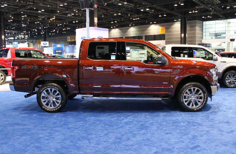 2018 Ford F-150 Chicago Auto Show