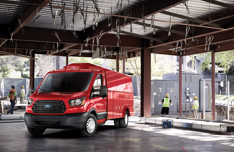 2017 Ford Transit fuel numbers