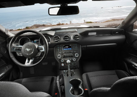 2017 Ford Mustang interior