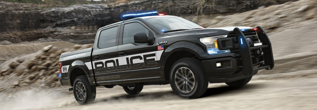 The Ford F-150 Police Responder is the First Police Pursuit-Rated Pickup Truck