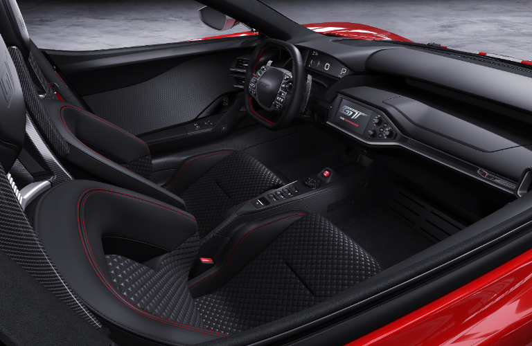 Interior Design Of  Ford Gt  Heritage Edition