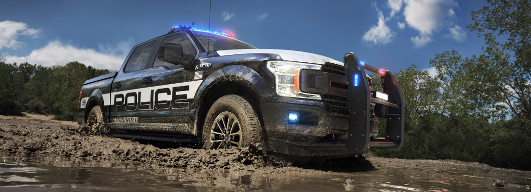 Off-Road Capabilities of 2018 Ford F-150 Police Responder