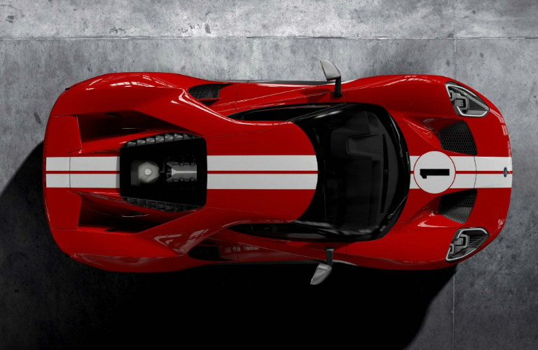 What Is The Release Date Of The  Ford Gt  Heritage Edition Race Car