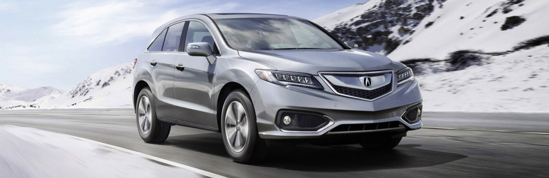 Does the 2017 Acura RDX have AWD?