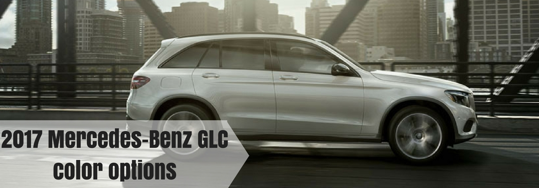 2017 mercedes benz glc exterior color options