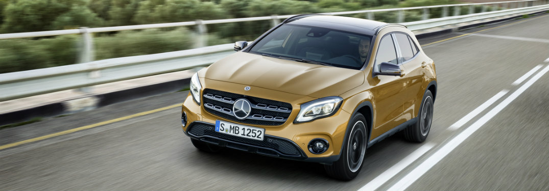 New mercedes benz gla features release date for Mercedes benz gla release date