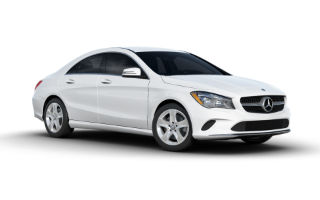 What are the color options for the 2017 Mercedes-Benz CLA?