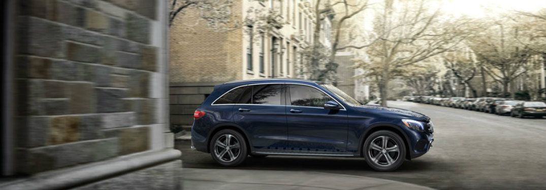 2017 GLC driver assist features