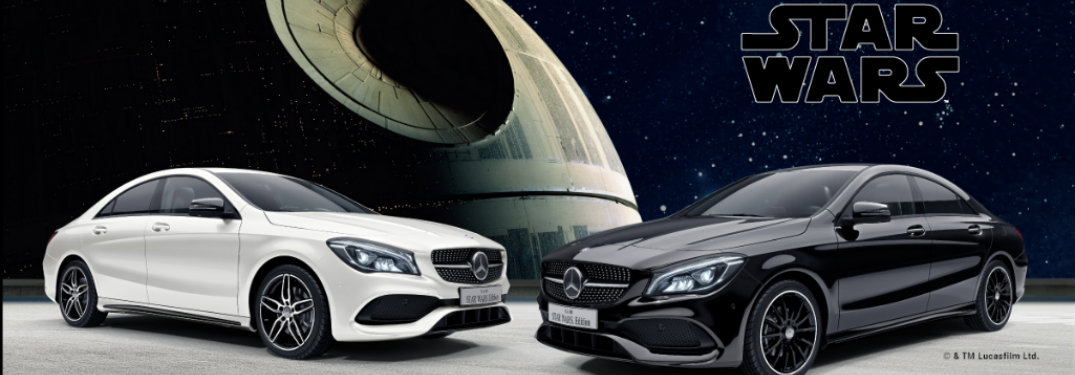 Check out the special edition mercedes benz star wars models for Mercedes benz extended warranty coverage