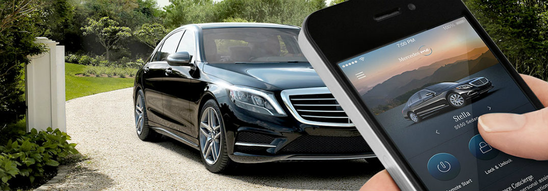 What is the mbrace app and what does it do for Mercedes benz remote start app
