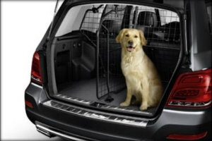 Tips for safe driving habits with dogs in the car for Barrier mercedes benz