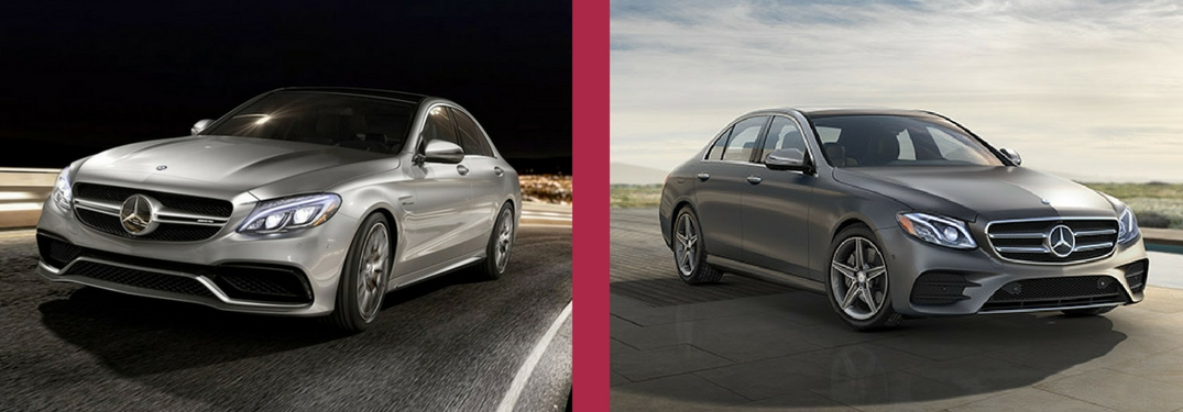 What is the difference between the c class sedan and the e for Explain the different classes of mercedes benz