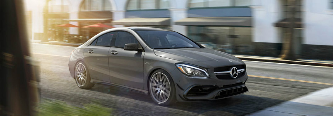 2017 Mercedes-Benz CLA Acceleration time