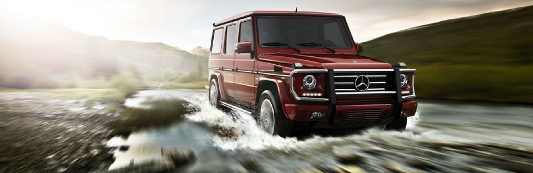 2017 Mercedes-Benz G-Class Off-Roading Features