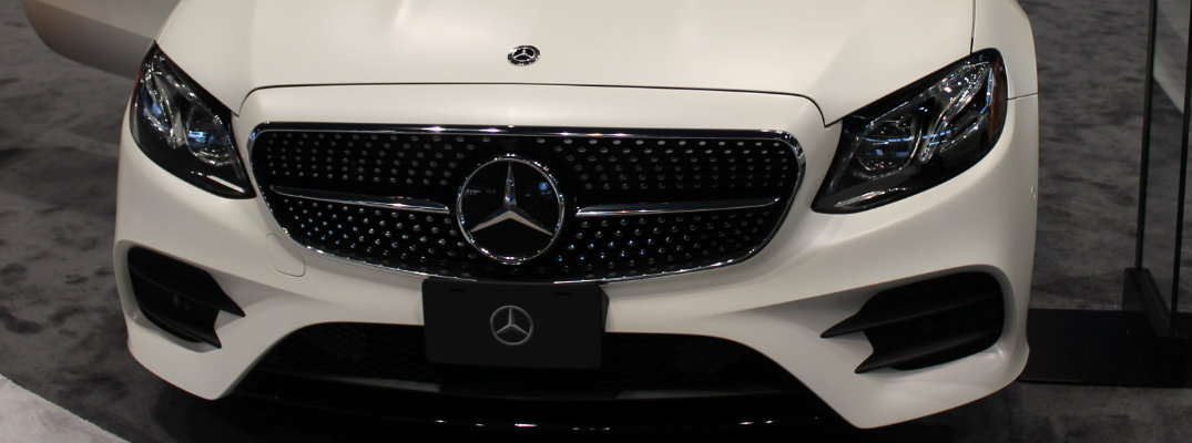2018 Mercedes-Benz E-Class Coupe Chicago Auto Show display