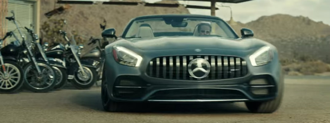 Mercedes-AMG GT Roadster stars in Super Bowl 2017 commercial