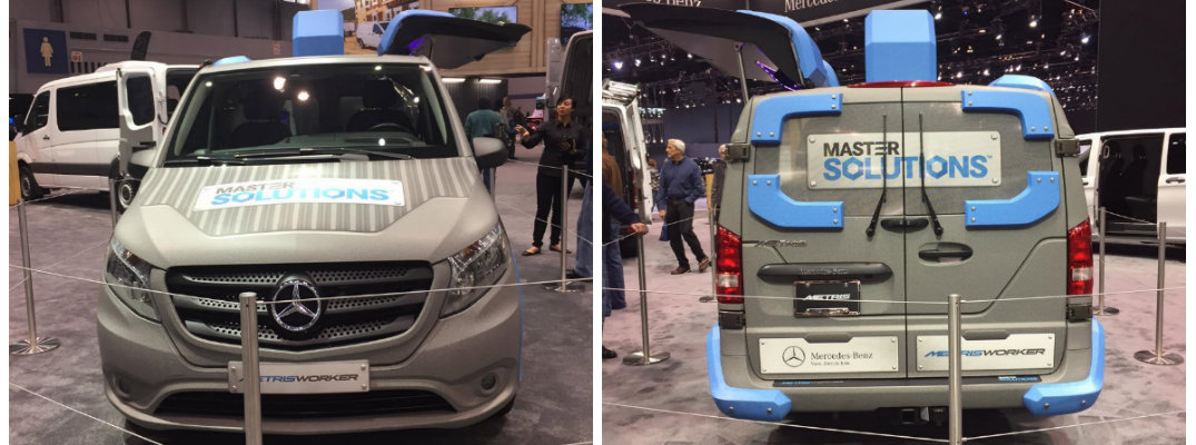 Mercedes-Benz Metris Toolbox at Chicago Auto Show