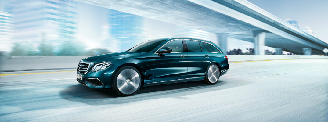 Official Interior View of New Mercedes-Benz E-Class Estate